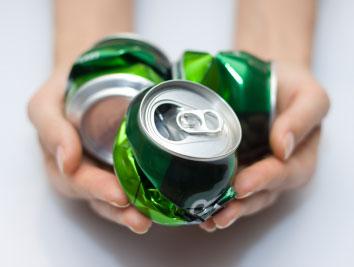 recycling aluminium